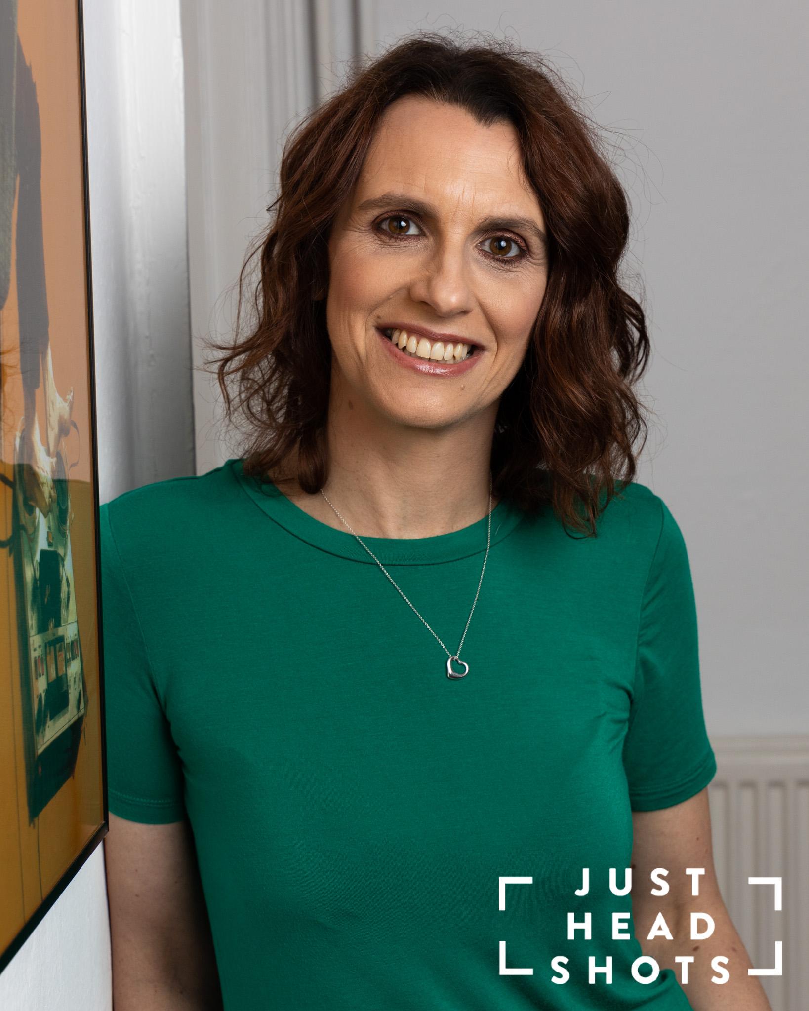 Professional headshot of Amanda Bate taken at Wynne Marketing in Chester