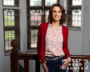 Business portrait of Amanda Bate taken at Wynne Marketing in Chester