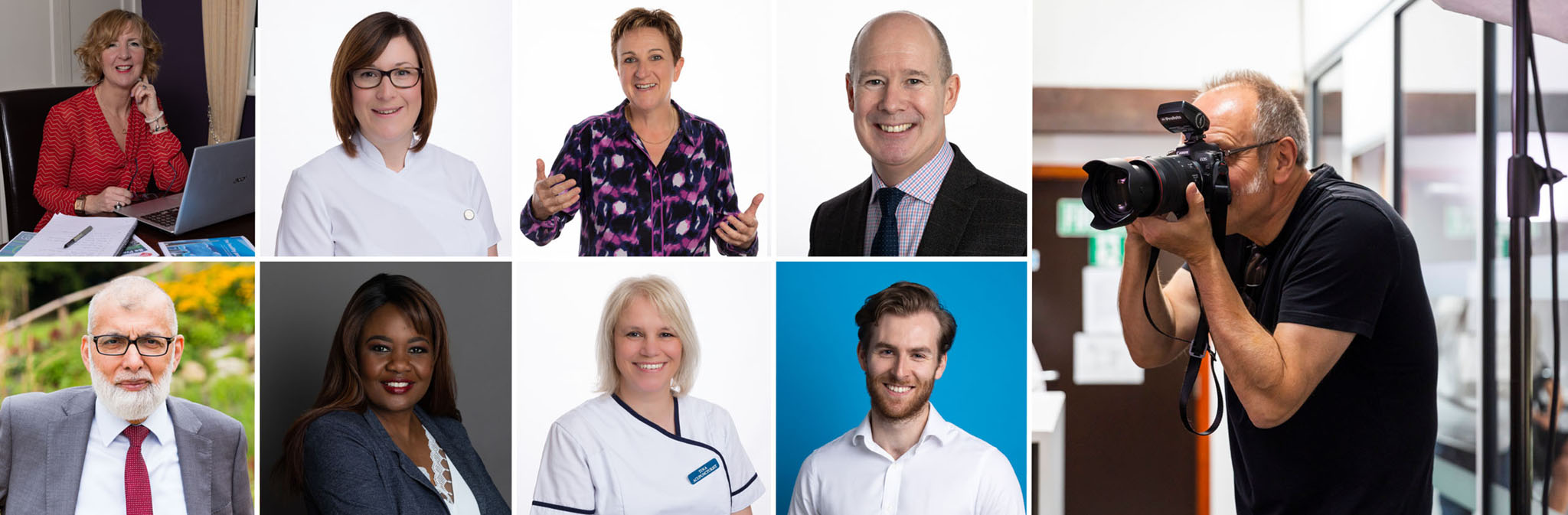 headshots and profile photographs for people working in the public sector