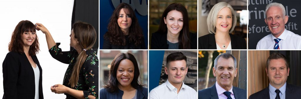 Professional headshots and profile photographs for solicitors and accountants