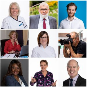 headshots and profile photographs for people working in healthcare and public services