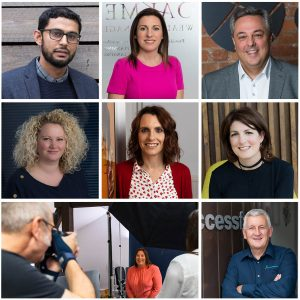 Location headshots of men and women for Cheshire based SME's