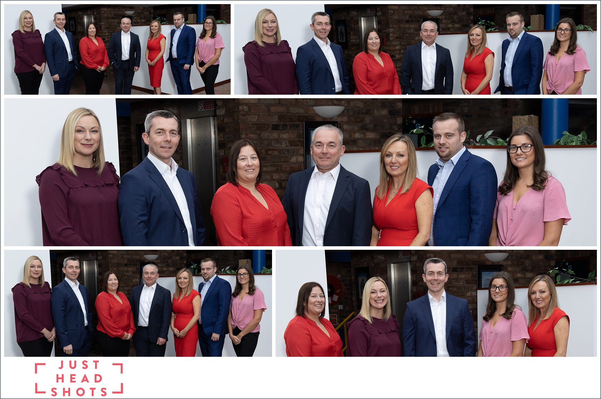Photograph of team of people at a Wealth Management company in Warrrington, Cheshire