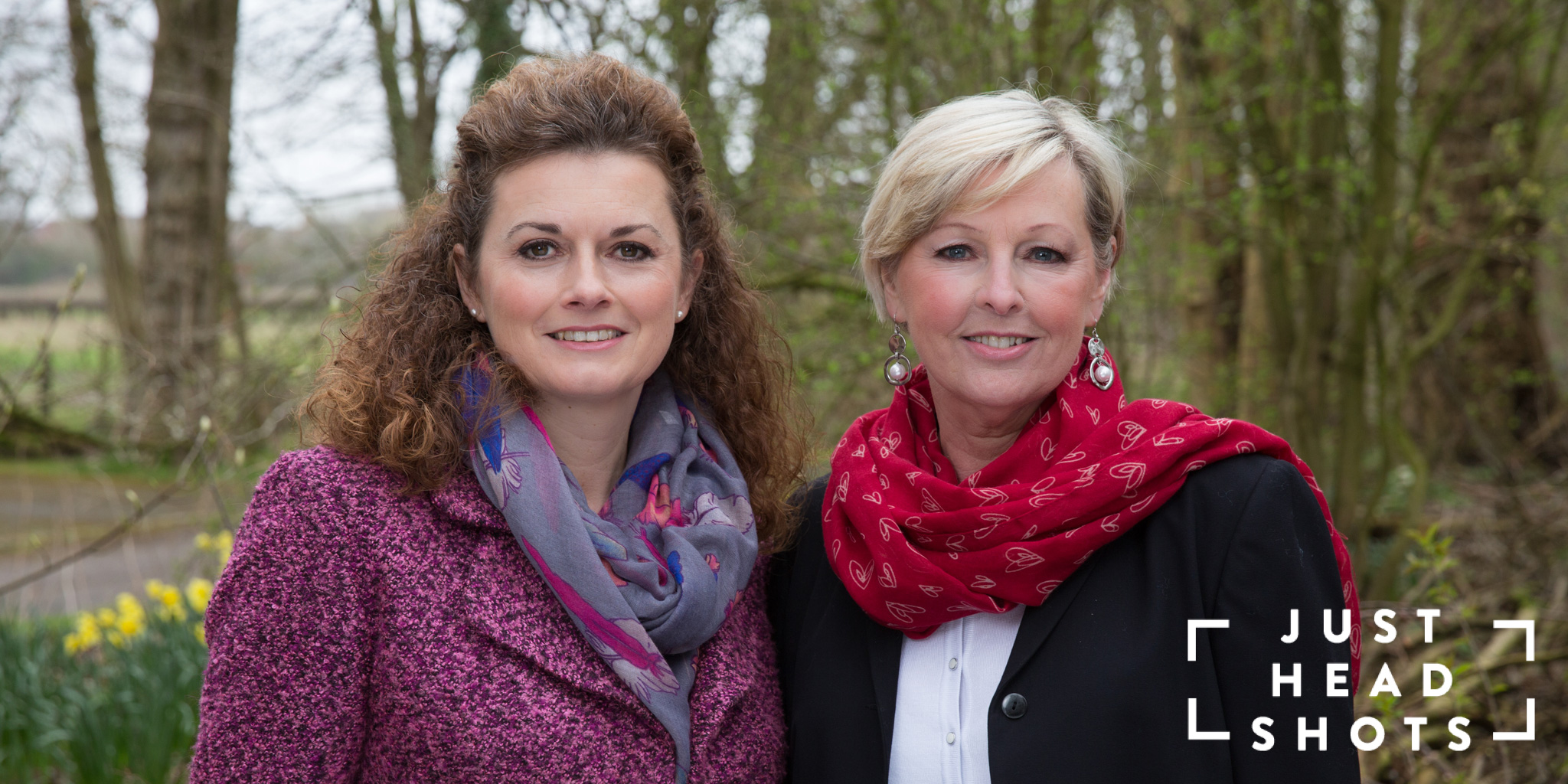 Business portrait of wellness coaches at Feelgood in Cheshire