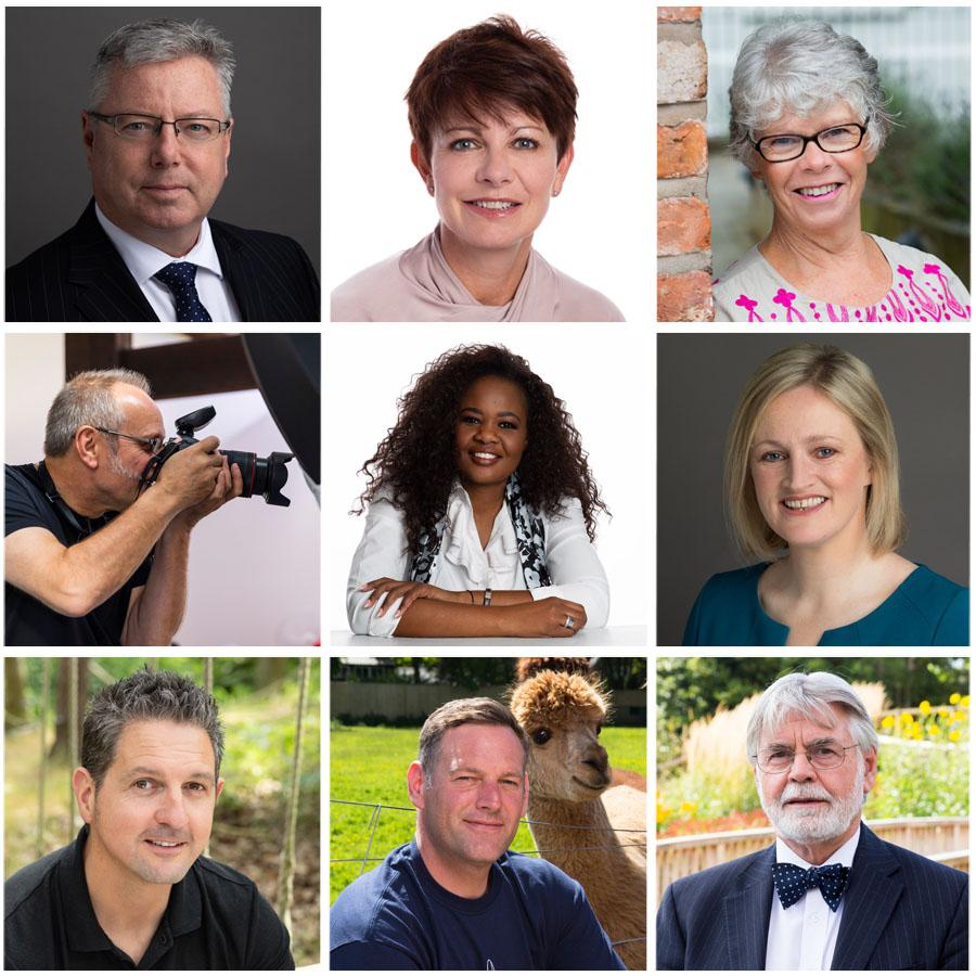 Professional headshots on white backgrounds, dark backgrounds and natural backgrounds in Warrington