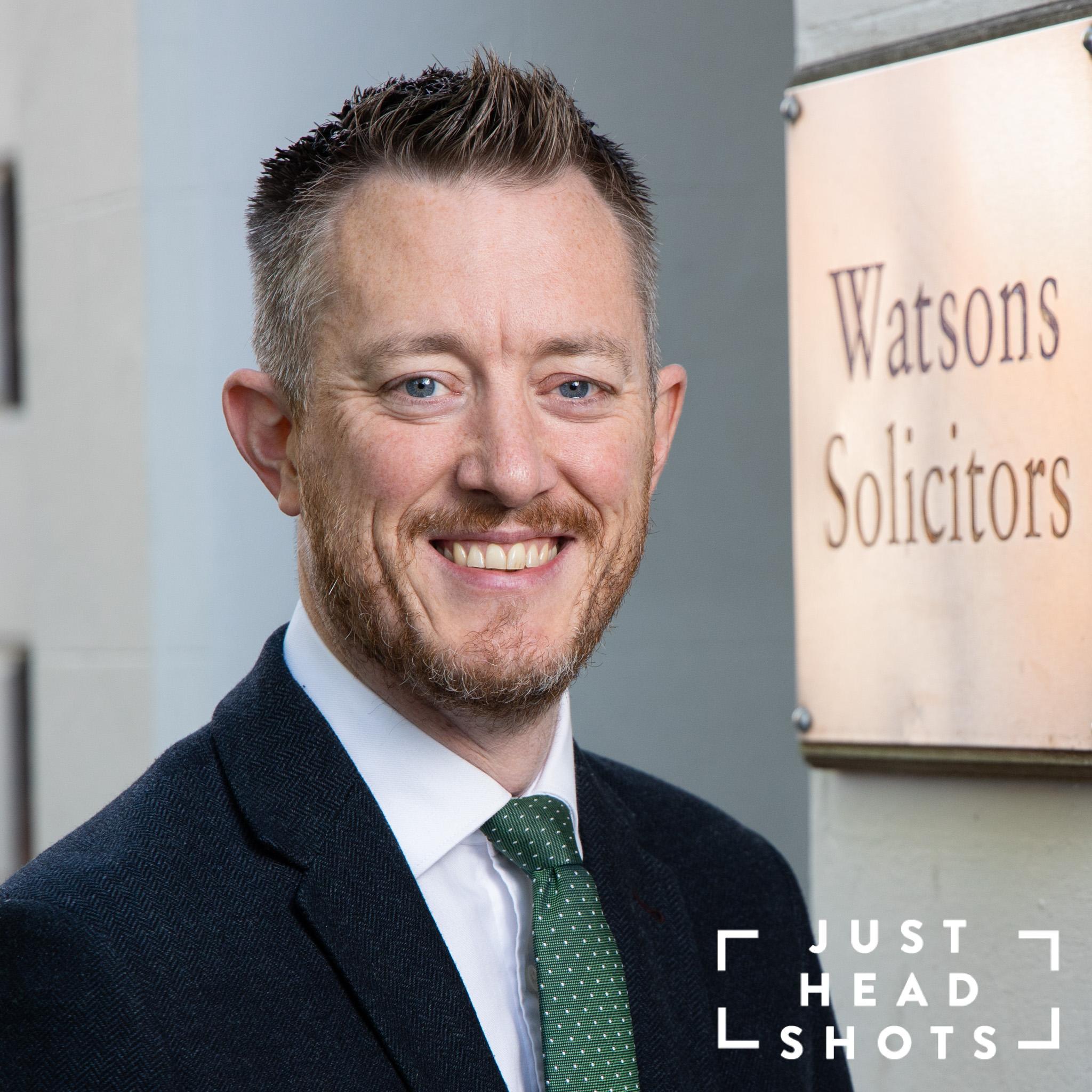 Headshots for lawyers in Warrington